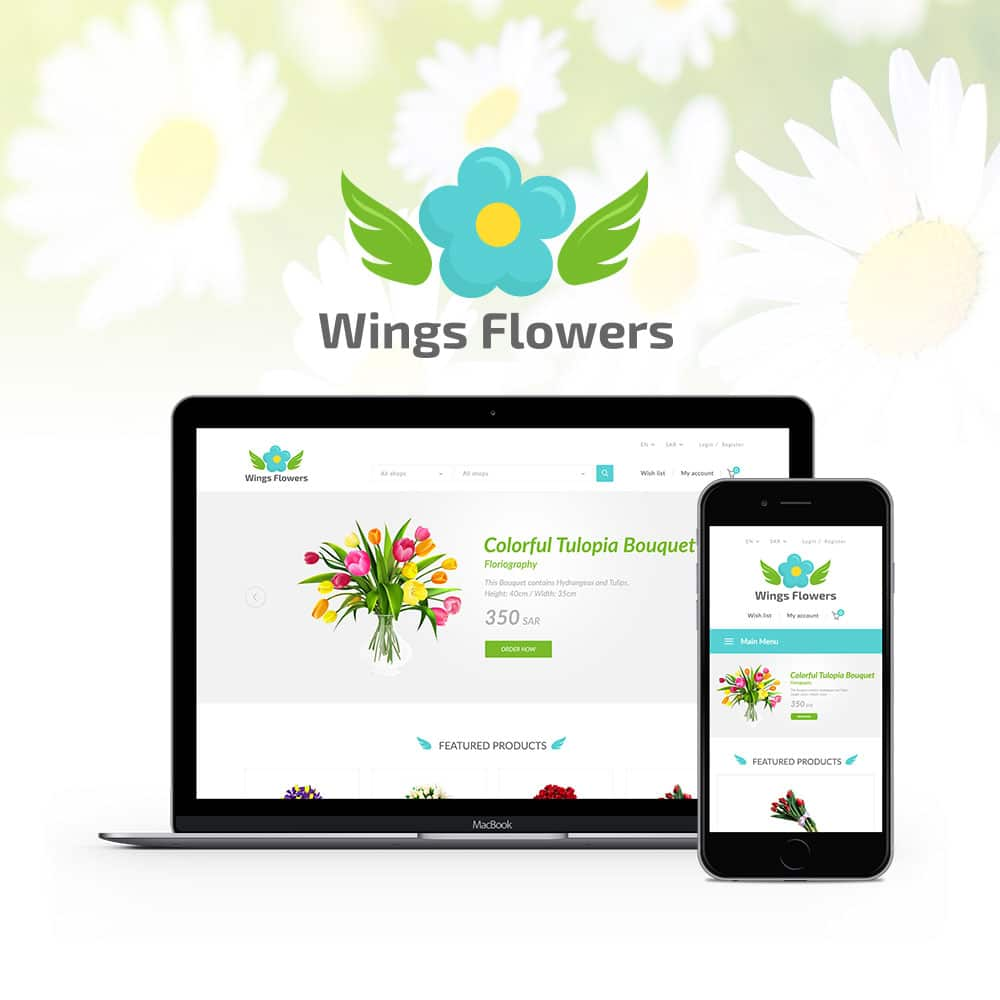 flower wings